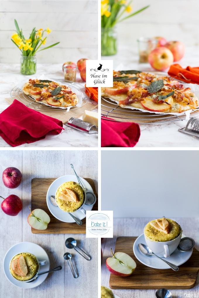 1+1 Apfel Kachel